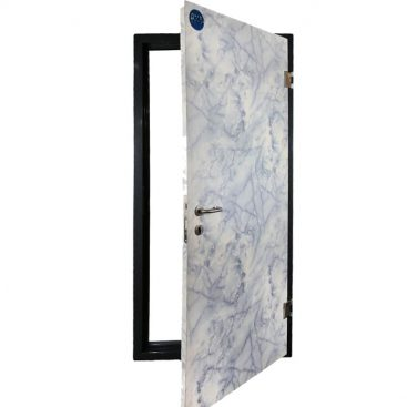 درب فلزی اداری طرح سنگ