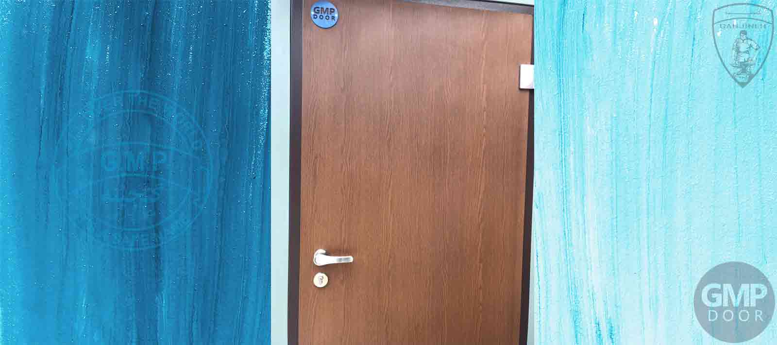 درب ضد حریق یک لنگه